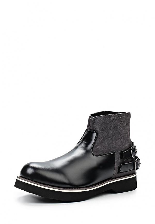 Ботинки McCrain SS15MCS001 серые, чёрные