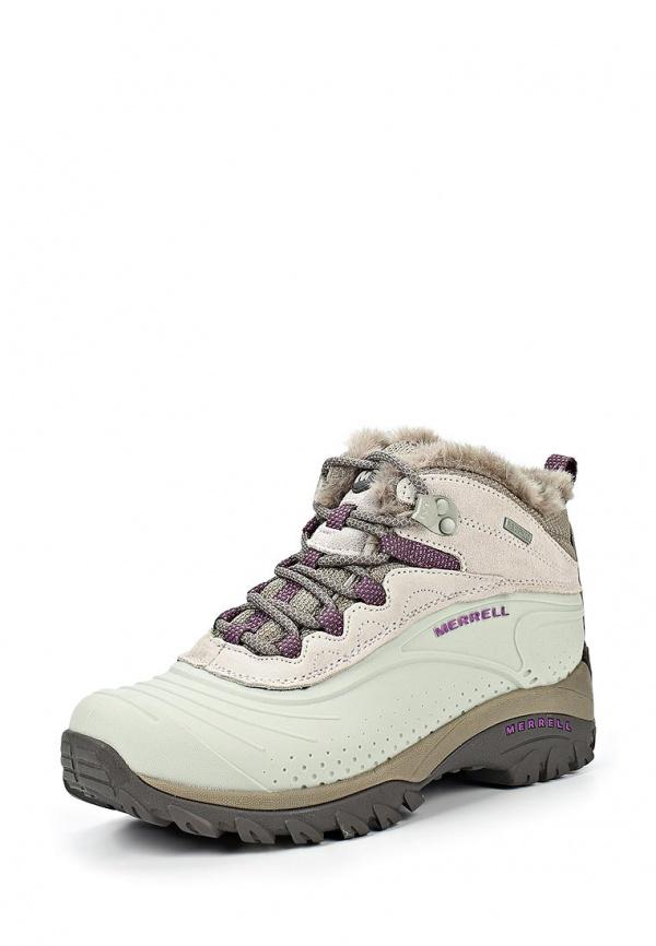 Ботинки трекинговые Merrell 132947C бежевые, серые