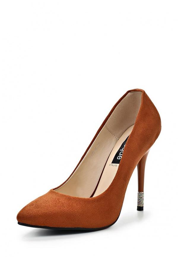 Туфли Burlesque MHMR-1 коричневые