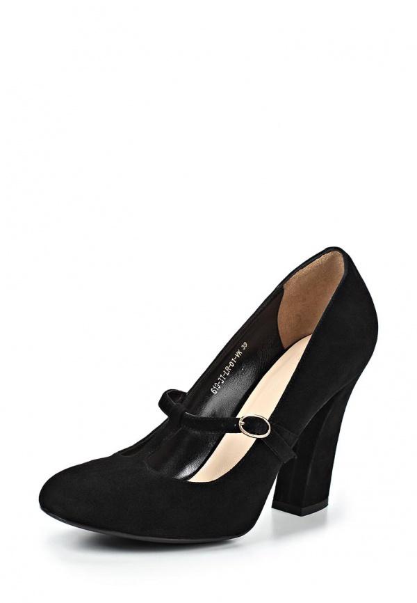 Туфли Calipso 619-31-LR-01-VK чёрные