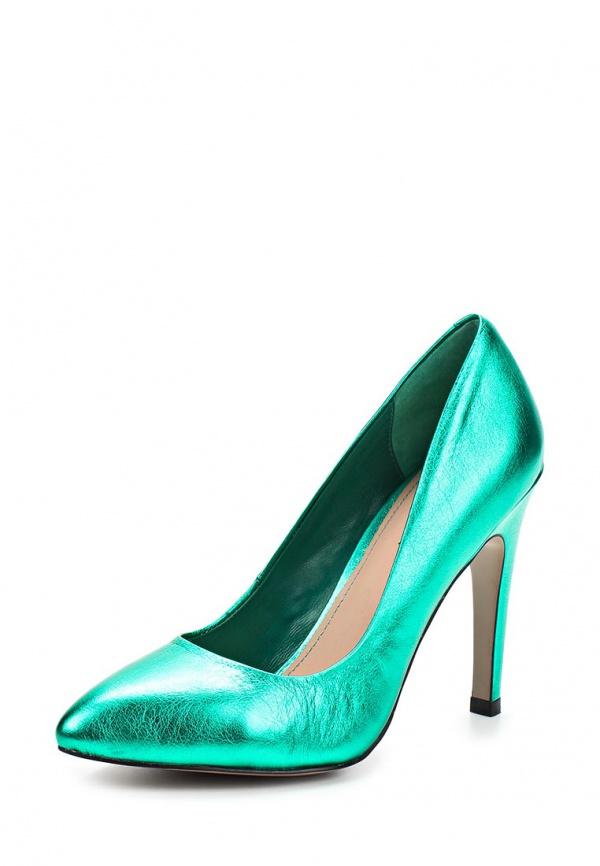 Туфли Graciana C 35-11-12 зеленые