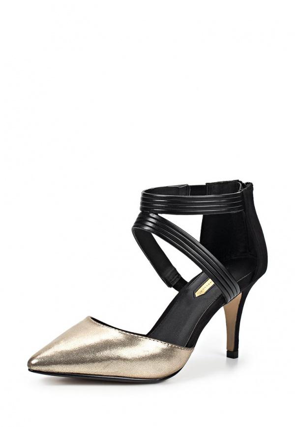 Туфли Dorothy Perkins 22255531 золотистые, чёрные