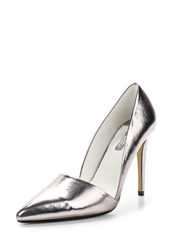 Туфли Dorothy Perkins 22300160 серебристые