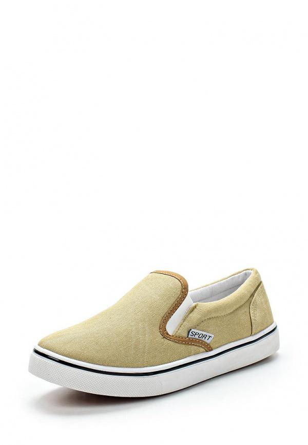 Слипоны WS Shoes 155 бежевые