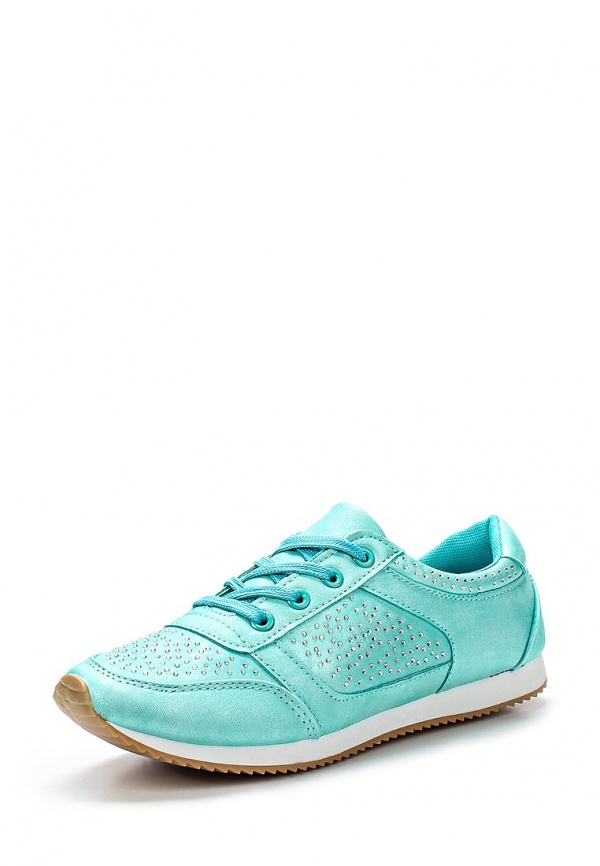 Кроссовки WS Shoes 859 зеленые