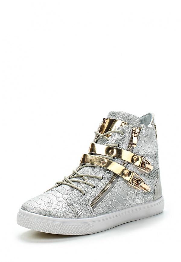 Кеды WS Shoes 191 серебристые, серые