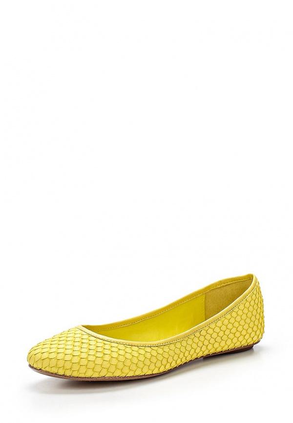 Балетки Ash INSTINCT(SS15-M-85853-007) жёлтые