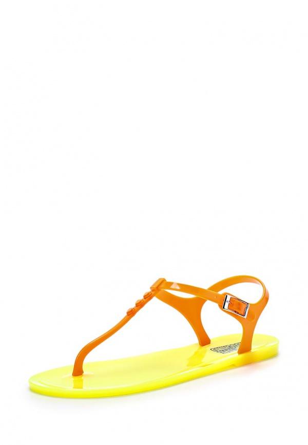 Сандалии Love Moschino JA16381G0KJN140A жёлтые, оранжевые
