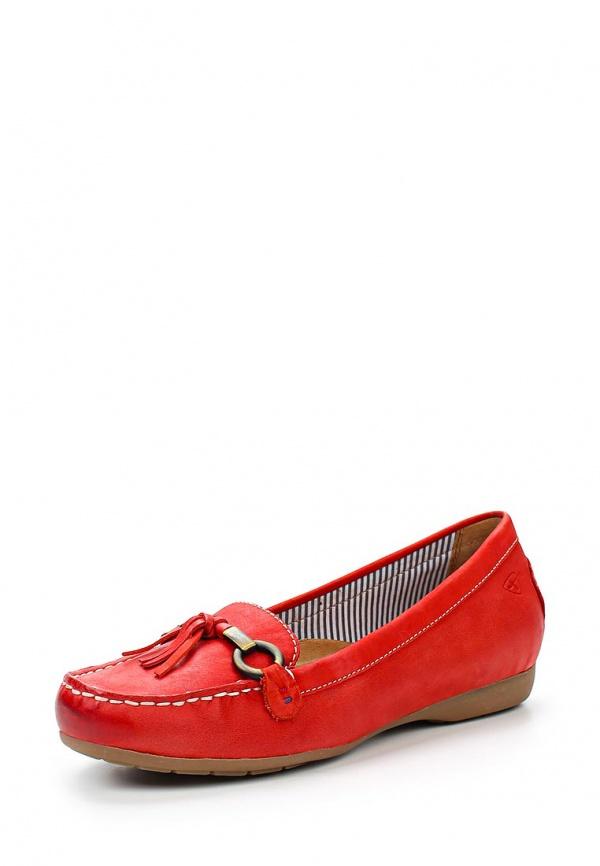 Мокасины Tamaris 1-1-24616-24-533 красные