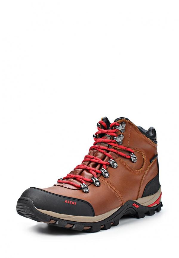 Ботинки трекинговые Ascot T020-01 K2 коричневые, чёрные