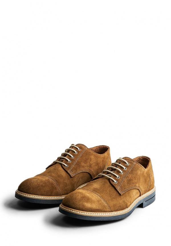 Туфли Mango Man 34053673 коричневые