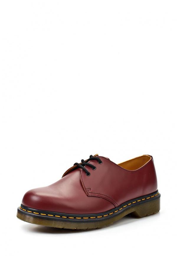 Ботинки Dr. Martens 10085600 бордовые