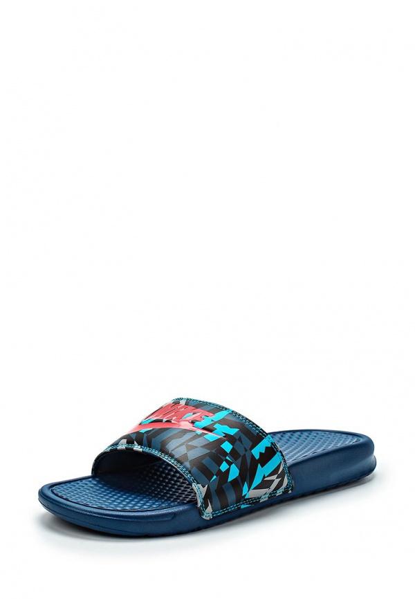 Сланцы Nike 631261-064 синие