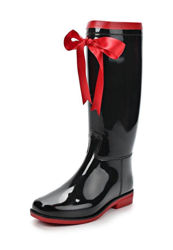 Резиновые сапоги Boomboots 39 красные, чёрные
