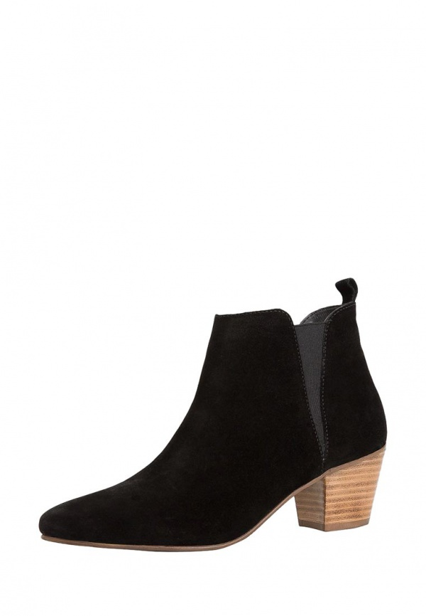 Ботинки Mango 44080355 чёрные