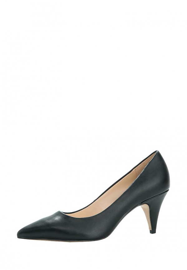 Туфли Mango 44073603 чёрные