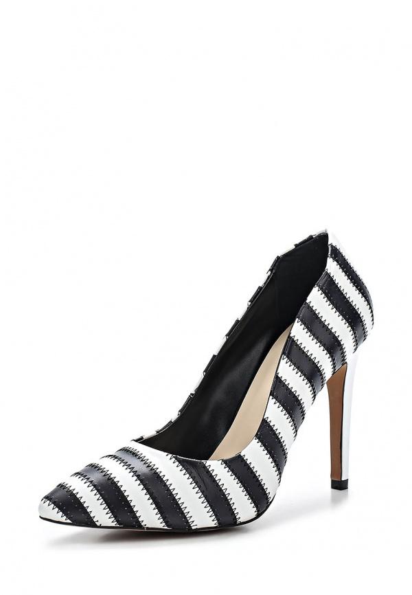 Туфли Laceys London JC-SONYA COURT белые, чёрные