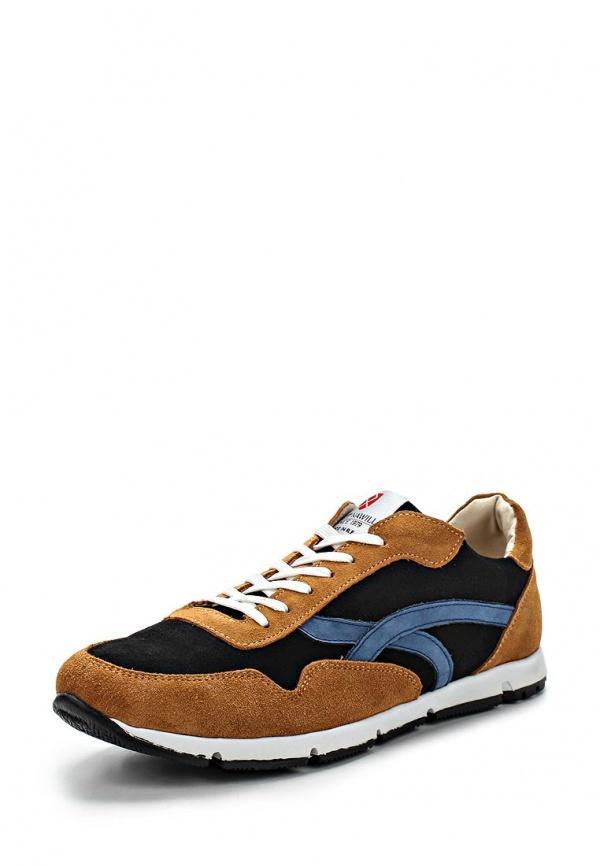 Кроссовки Matt Nawill 525975OC1 коричневые, синие, чёрные