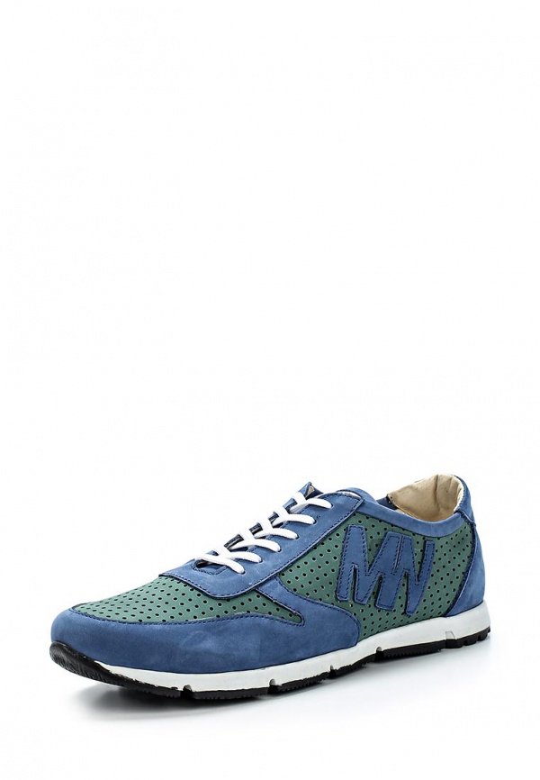 Кроссовки Matt Nawill 525986GRC-T голубые, зеленые, синие