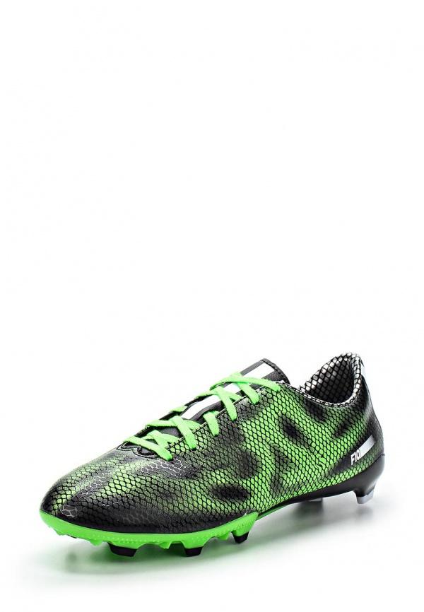 Шиповки adidas Performance B35993 зеленые, чёрные