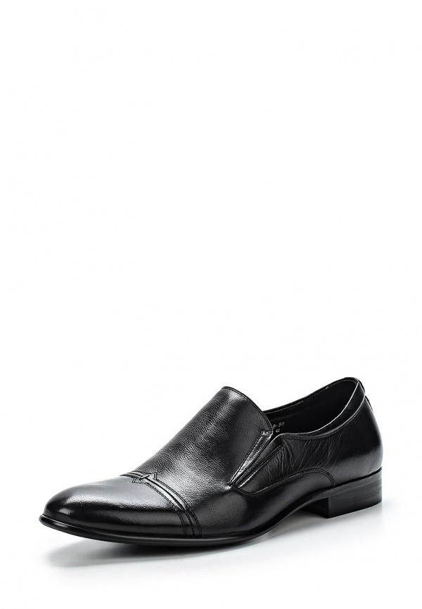 Туфли Dino Ricci 116-08-58 чёрные