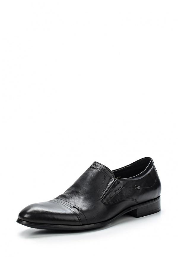Туфли Dino Ricci 101-167-02 чёрные