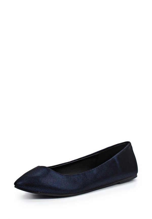 Балетки Dorothy Perkins 19881723 синие, чёрные