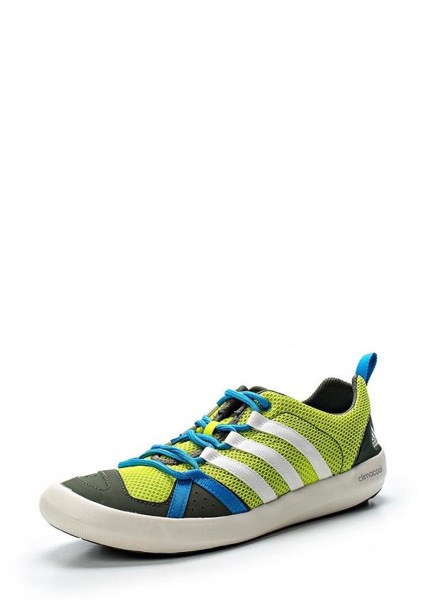 Кроссовки adidas Performance B26846 зеленые