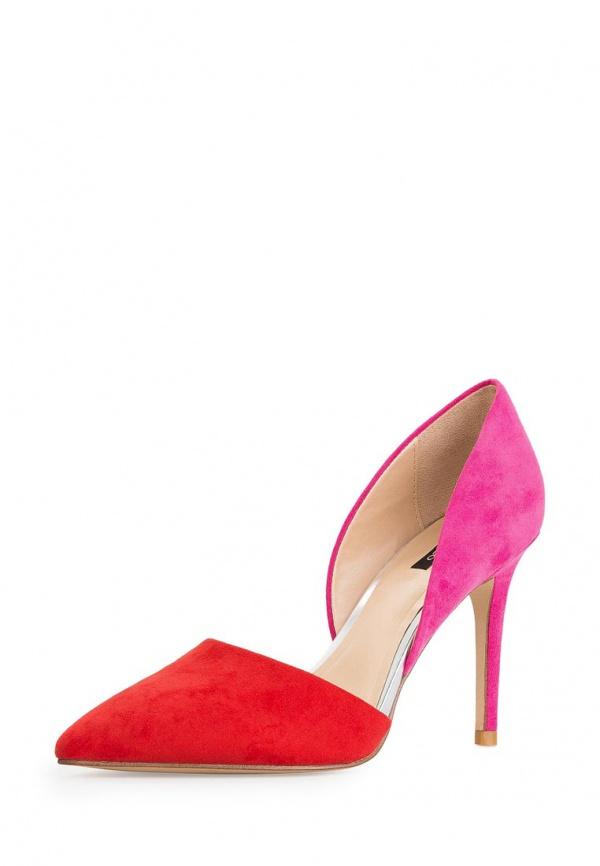 Туфли Mango 44010360 красные, розовые