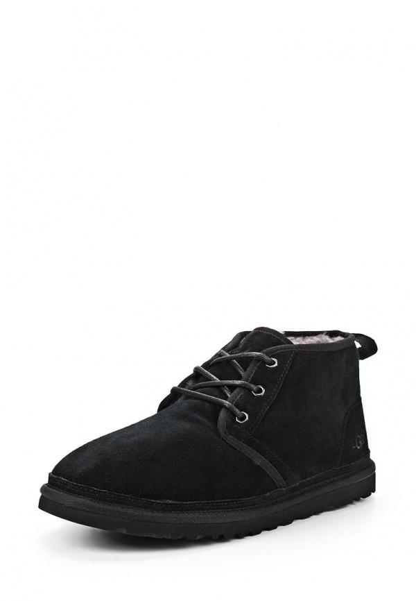 Ботинки UGG Australia 3236 чёрные