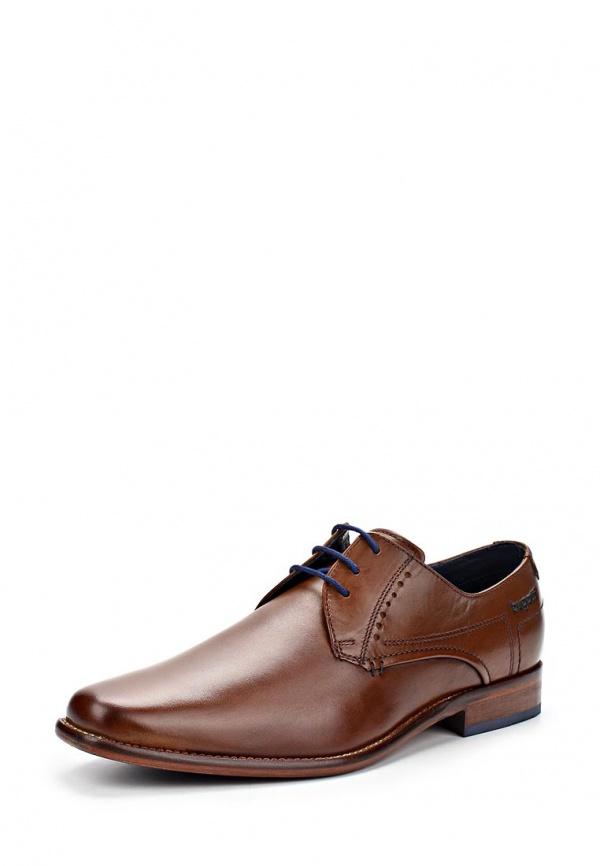 Туфли Bugatti U8107PR1W коричневые