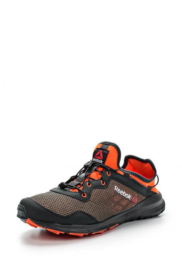 Кроссовки Reebok M49893 оранжевые, серые