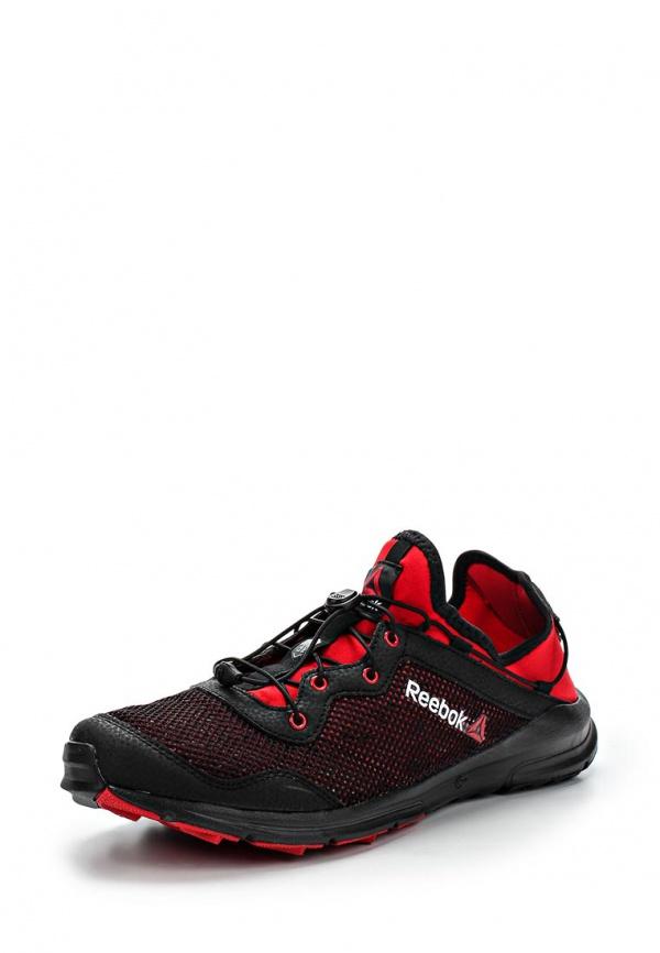 Кроссовки Reebok M44996 красные, чёрные