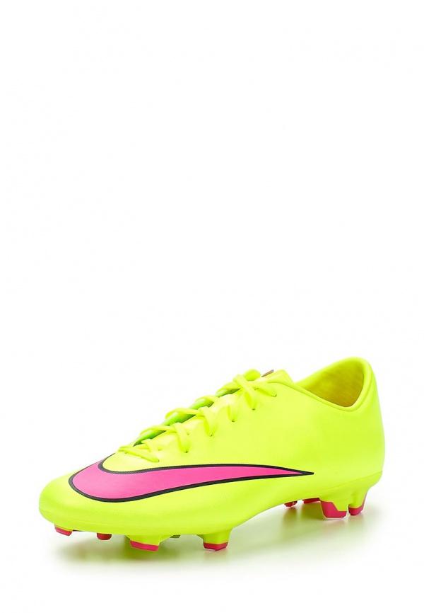 Бутсы Nike 651632-760 жёлтые
