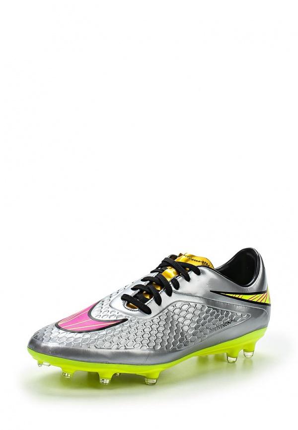 Бутсы Nike 677585-069 серебристые