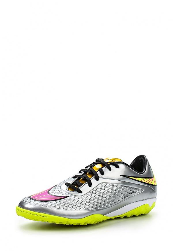Шиповки Nike 677588-069 серебристые