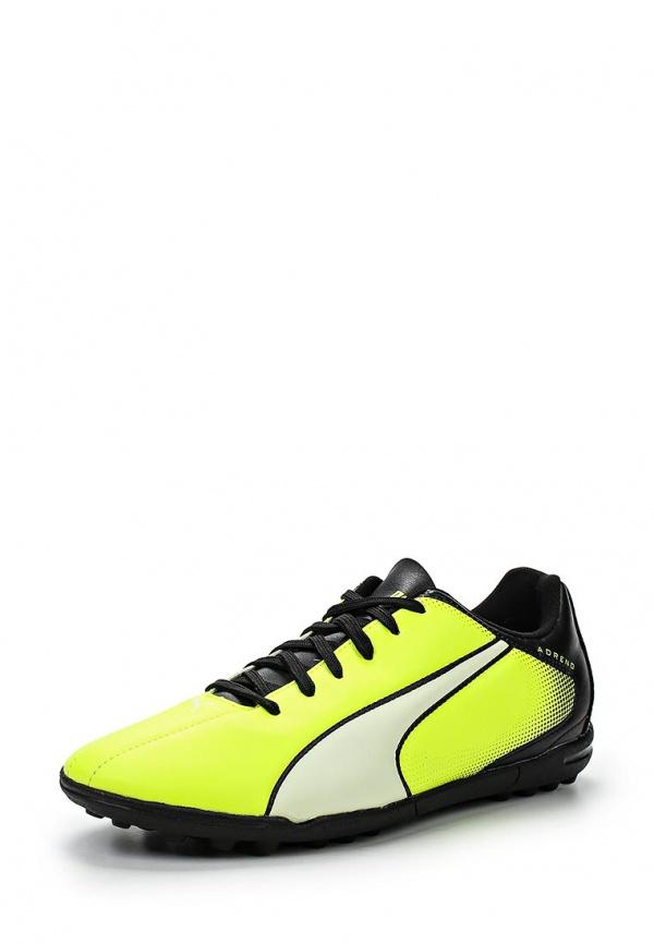Шиповки Puma 10345002 жёлтые, зеленые, чёрные