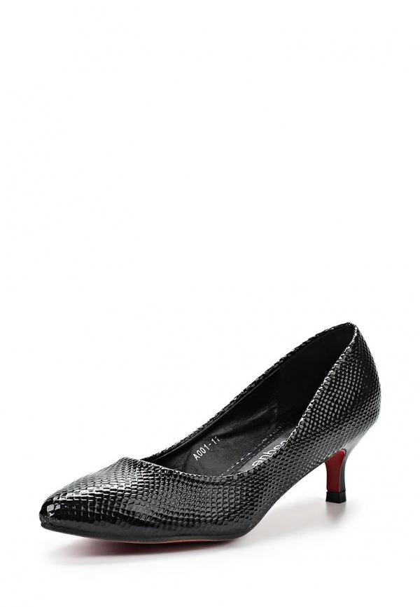 Туфли Burlesque HB12-59 чёрные