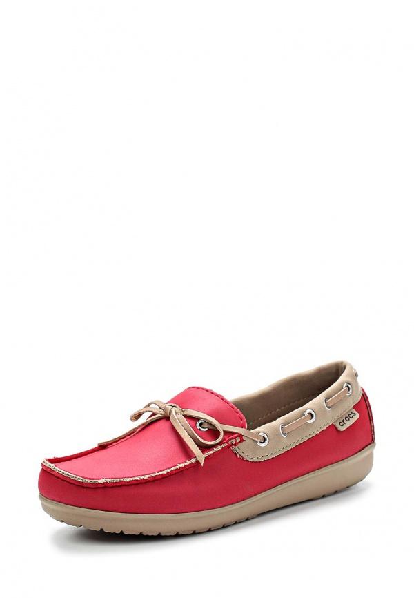 Мокасины Crocs 15753-6HK красные