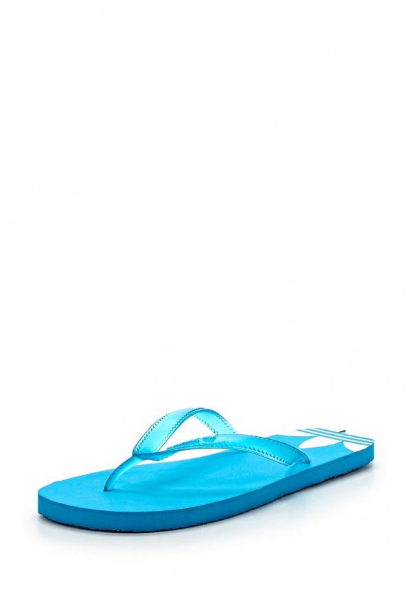 Сланцы adidas Originals M19437 голубые