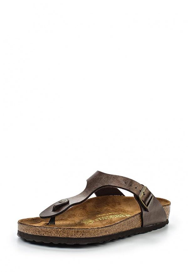 Сабо Birkenstock 845221 бронзовые, коричневые