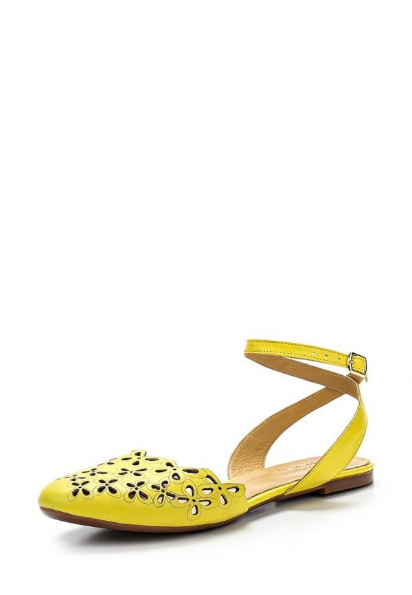 Сандалии Dino Ricci 859-07-02 жёлтые