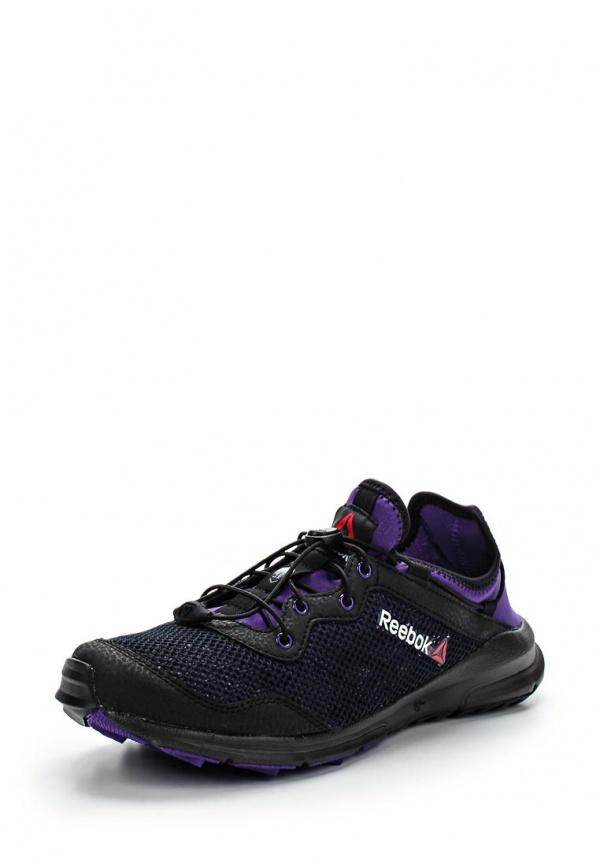 Кроссовки Reebok M44998 фиолетовые, чёрные