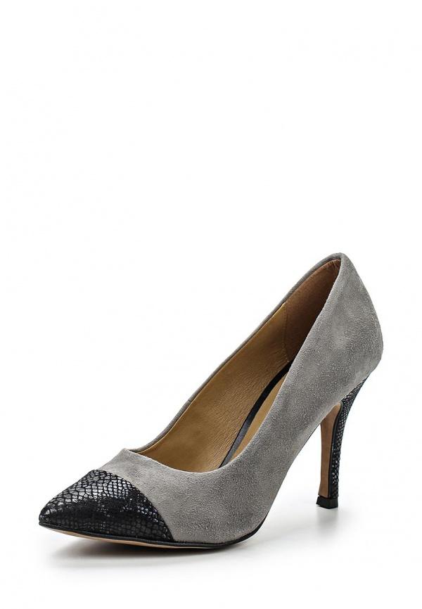 Туфли Tamaris 1-1-22427-24-227/220 серые, чёрные