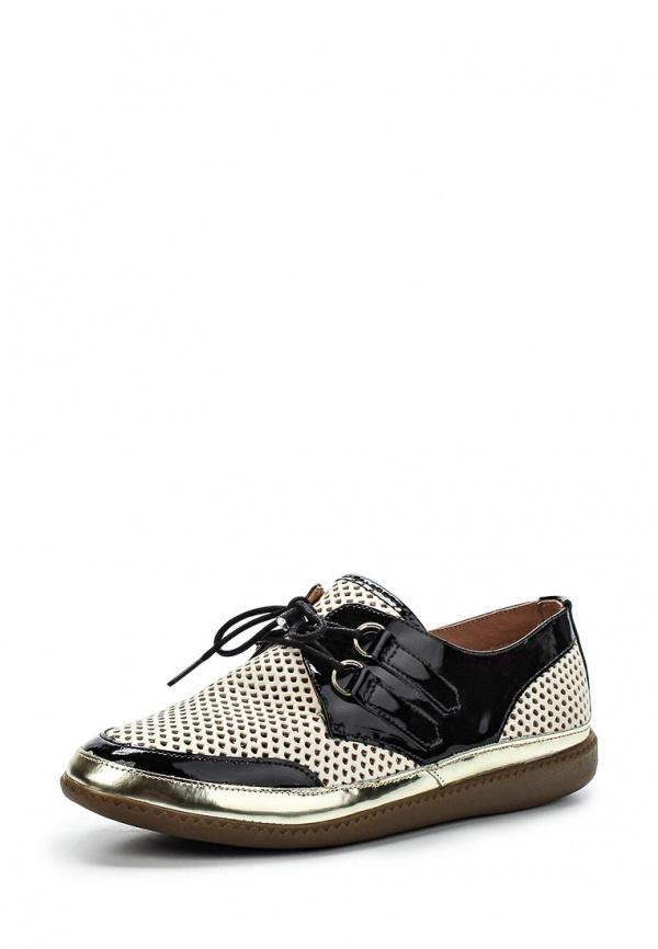 Ботинки Klimini 001 dixie бежевые, чёрные