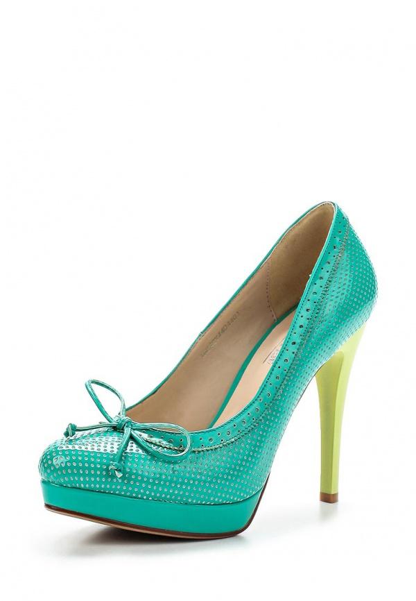 Туфли Makfine 18C4CY4404401 жёлтые, зеленые
