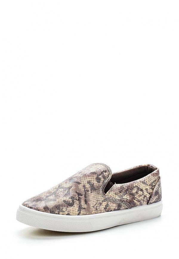 Слипоны WS Shoes AM-180 коричневые