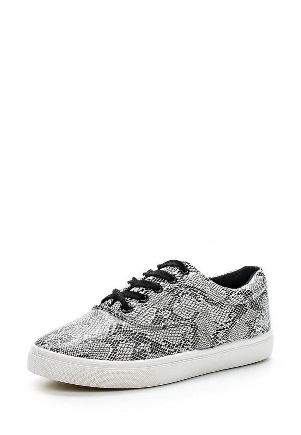 Кеды WS Shoes AM-181-3 белые, чёрные