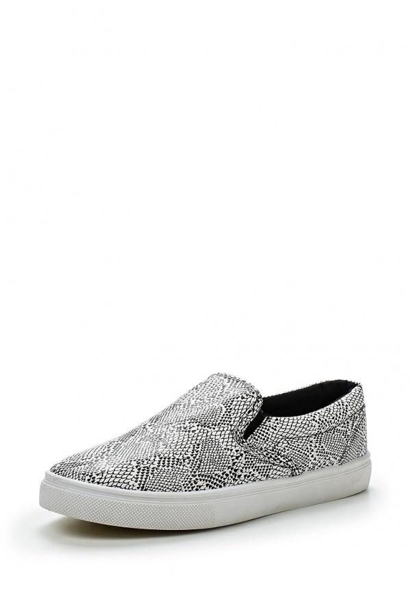 Слипоны WS Shoes AM-183 белые, чёрные
