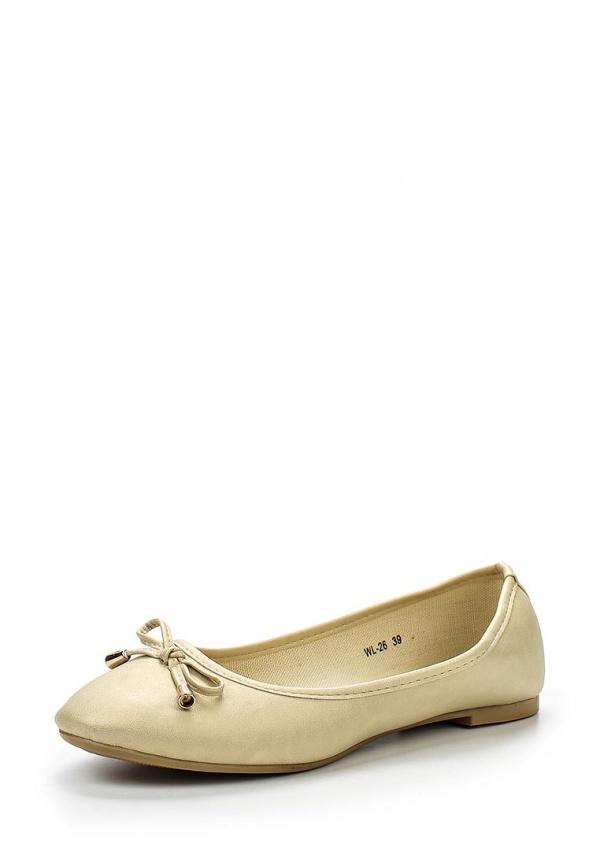 Балетки WS Shoes WL-26 бежевые